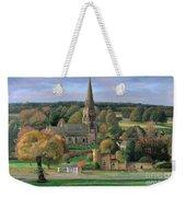 Edensor - Chatsworth Park - Derbyshire Weekender Tote Bag