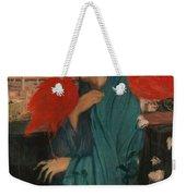 Edgar Degas - Young Woman With Ibis - 1860-1862 Weekender Tote Bag
