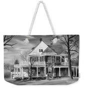 Edgar Home Bw Weekender Tote Bag by Kip DeVore