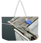 Edgartown Fishing Boat Weekender Tote Bag