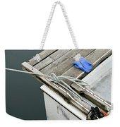 Edgartown Fishing Boat Weekender Tote Bag