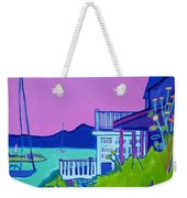 Edgartown Porches Weekender Tote Bag