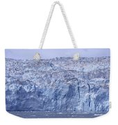 Edge Of A Huge Glacier In Alaska Weekender Tote Bag