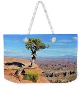 Edge Of The Cliff Weekender Tote Bag