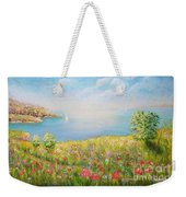 Edge Of The Cliffs By The Sea Weekender Tote Bag