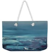 Edge Of The Deep Blue Sea Weekender Tote Bag