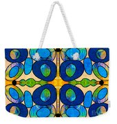 Edible Extremes Abstract Bliss Art By Omashte Weekender Tote Bag