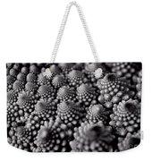 Edible Pearls Black And White Weekender Tote Bag