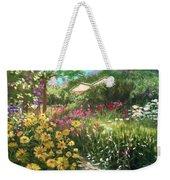 Edie's Garden Weekender Tote Bag