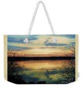 Edinboro Lake Nocturne No.3 Weekender Tote Bag