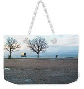 Edinburgh - Two Trees At Caption Hill Weekender Tote Bag