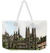 Edinburgh Architecture 3 Weekender Tote Bag