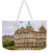 Edinburgh Bank Of Scotland Building Weekender Tote Bag