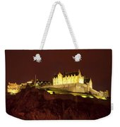 Edinburgh Castle Weekender Tote Bag