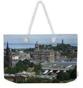 Edinburgh Castle View #3 Weekender Tote Bag