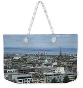 Edinburgh Castle View #5 Weekender Tote Bag