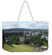 Edinburgh Castle View #6 Weekender Tote Bag