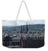 Edinburgh Castle View #8 Weekender Tote Bag