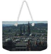 Edinburgh Castle View #9 Weekender Tote Bag
