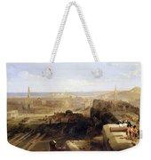 Edinburgh From The Castle Weekender Tote Bag