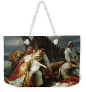 Edith Finding The Body Of Harold Horace Vernet Weekender Tote Bag