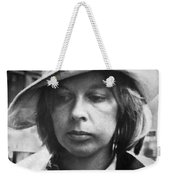 Edith Irving Begins Jail Weekender Tote Bag