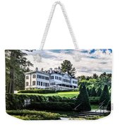 Edith Wharton Mansion Weekender Tote Bag