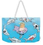 Editorial Cartoonist Weekender Tote Bag