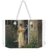 Edmund Blair Leighton 1852-1922 The Request Weekender Tote Bag