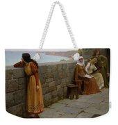 Edmund Blair Leighton - The Hostage 1912 Weekender Tote Bag