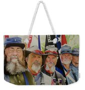 Edmund Ruffin Fire Eaters Color Guard 2016 Weekender Tote Bag