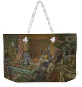 Edouard Vuillard  Sewing Party At Loctudy Weekender Tote Bag