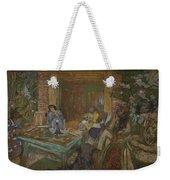 Edouard Vuillard  Sewing Party At Loctudy Weekender Tote Bag