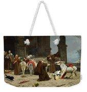 Eduardo Zamacois Y Zabala , Returning To The Monastery 1868 Weekender Tote Bag