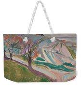 Edvard Munch , Landscape, Kragero Weekender Tote Bag
