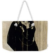 Edvard Munch: The Kiss Weekender Tote Bag