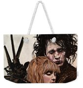 Edward And Kim Weekender Tote Bag