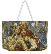 Edward Atkinson Hornel 1864-1933 The Bluebell Wood Weekender Tote Bag