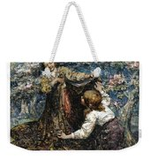 Edward Atkinson Hornel 1864 - 1933 The Butterfly Catchers Weekender Tote Bag