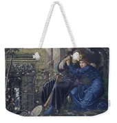 Edward Burne-jones, Love Among The Ruins, 1894 Weekender Tote Bag