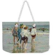 Edward Henry Potthast 1857 - 1927 Summer Day, Brighton Beach Weekender Tote Bag
