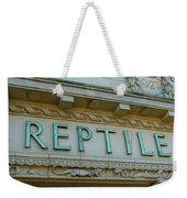 Edwardian Reptile House  Weekender Tote Bag