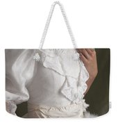 Edwardian Woman Mid Section  Weekender Tote Bag