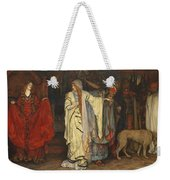 Edwin Austin Abbey 1852-1911 King Lear, Cordelias Farewell Weekender Tote Bag