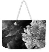 Eerie Skies In Cornville Weekender Tote Bag
