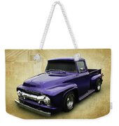 Ef In Purple Weekender Tote Bag