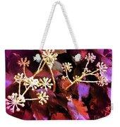 Efeu Ivy Vines Pink Weekender Tote Bag