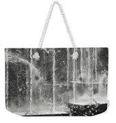 Effervescence Fountain In Milano Italy Weekender Tote Bag
