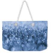Effervescent Layered Blues Weekender Tote Bag