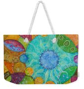 Effervescent Weekender Tote Bag by Tanielle Childers